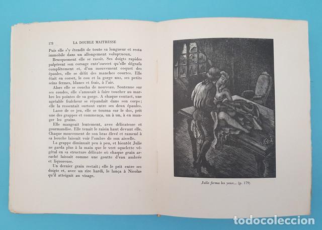 Libros antiguos: LIBRO EROTICO LA DOUBLE MAITRESSE HENRI DE REGNIER, TRIANON 1930 EDICION NUMERADA 1609 DE 1850 - Foto 5 - 214926286