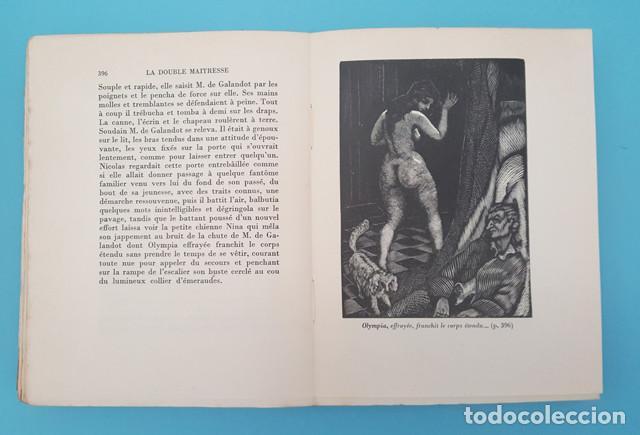 Libros antiguos: LIBRO EROTICO LA DOUBLE MAITRESSE HENRI DE REGNIER, TRIANON 1930 EDICION NUMERADA 1609 DE 1850 - Foto 6 - 214926286