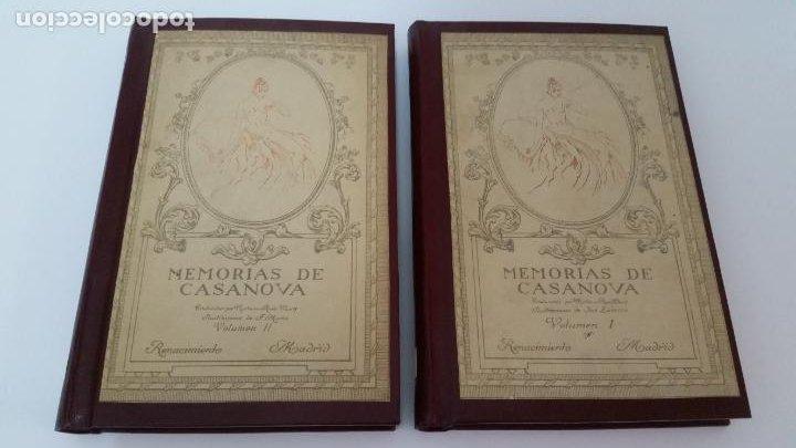 Libros antiguos: 1916 - memorias de casanova traducidas por cipriano rivas cherif - 2 tomos, primera edición - Foto 2 - 216811606
