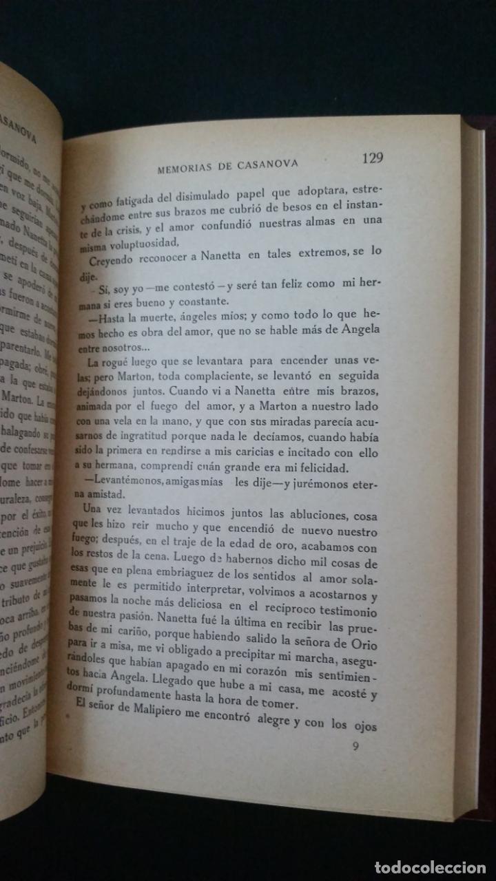 Libros antiguos: 1916 - memorias de casanova traducidas por cipriano rivas cherif - 2 tomos, primera edición - Foto 4 - 216811606