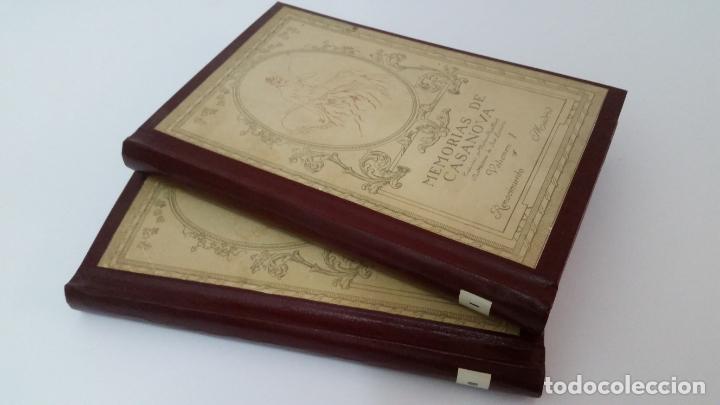 1916 - MEMORIAS DE CASANOVA TRADUCIDAS POR CIPRIANO RIVAS CHERIF - 2 TOMOS, PRIMERA EDICIÓN (Libros antiguos (hasta 1936), raros y curiosos - Literatura - Narrativa - Erótica)