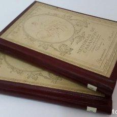 Libros antiguos: 1916 - MEMORIAS DE CASANOVA TRADUCIDAS POR CIPRIANO RIVAS CHERIF - 2 TOMOS, PRIMERA EDICIÓN. Lote 216811606