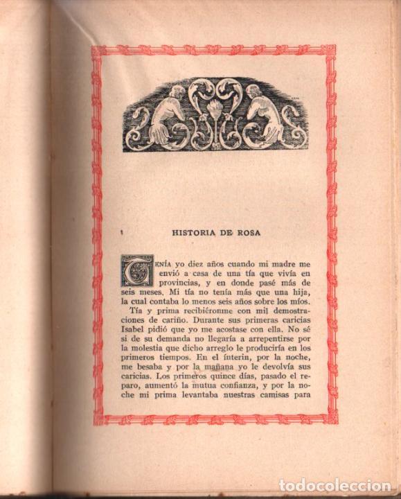 Libros antiguos: MARQUÉS DE SENTILLY : LA EDUCACIÓN DE LAURA (CURIOSOS Y EXQUISITOS, 1934) - Foto 3 - 39631509