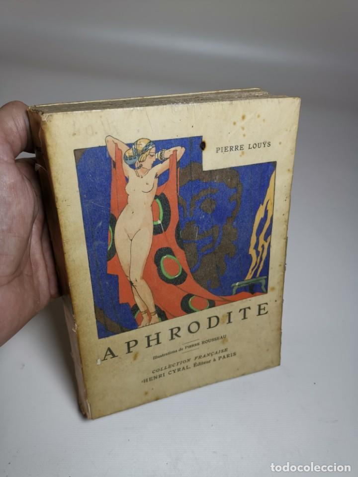 Libros antiguos: APHRODITE...P.LOUYS...ED CYRAL..1928..PIERRE ROUSSEAU ILLUSTRATEUR 1/970 PAPIER RIVES - Foto 3 - 219308242