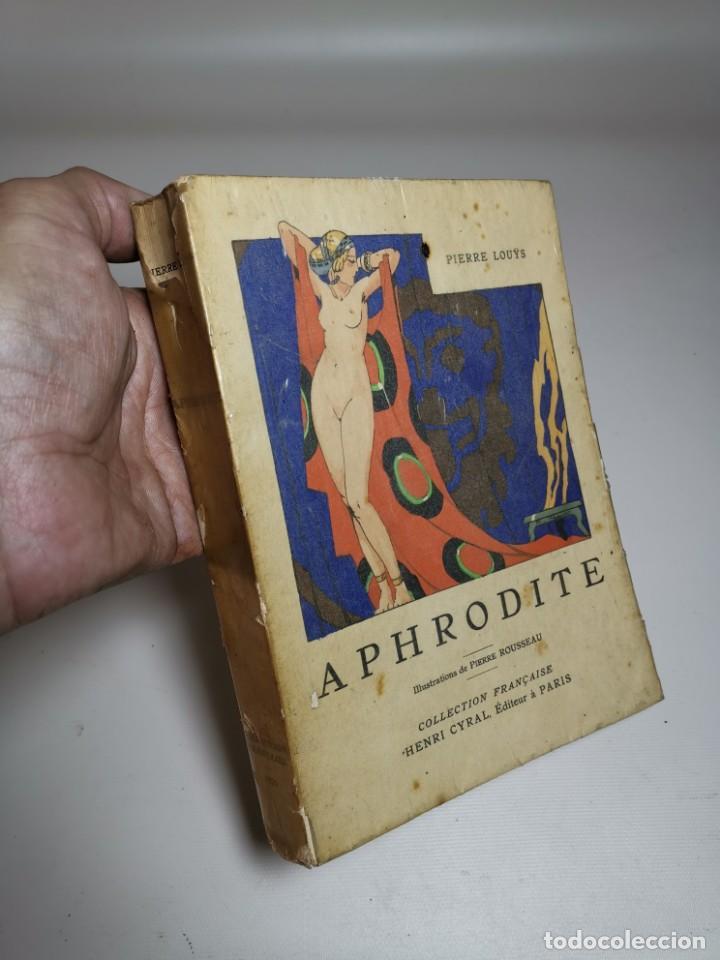 Libros antiguos: APHRODITE...P.LOUYS...ED CYRAL..1928..PIERRE ROUSSEAU ILLUSTRATEUR 1/970 PAPIER RIVES - Foto 4 - 219308242