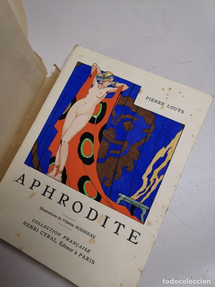 Libros antiguos: APHRODITE...P.LOUYS...ED CYRAL..1928..PIERRE ROUSSEAU ILLUSTRATEUR 1/970 PAPIER RIVES - Foto 20 - 219308242