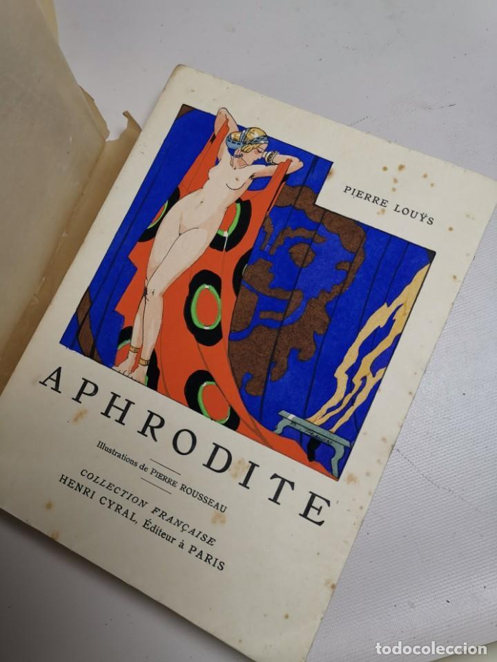 APHRODITE...P.LOUYS...ED CYRAL..1928..PIERRE ROUSSEAU ILLUSTRATEUR 1/970 PAPIER RIVES (Libros antiguos (hasta 1936), raros y curiosos - Literatura - Narrativa - Erótica)
