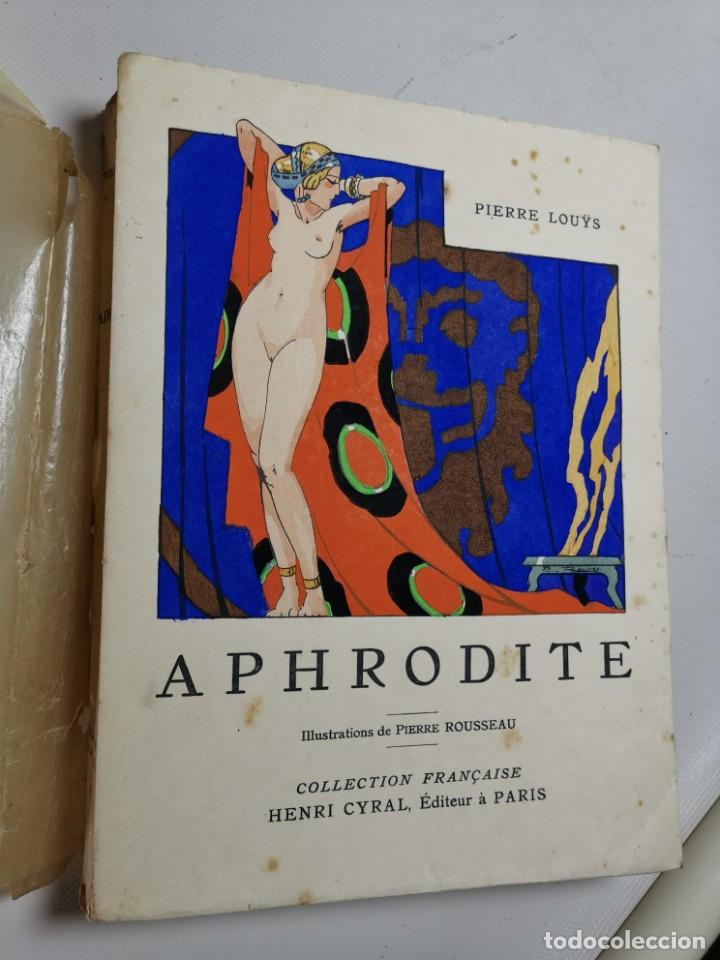 Libros antiguos: APHRODITE...P.LOUYS...ED CYRAL..1928..PIERRE ROUSSEAU ILLUSTRATEUR 1/970 PAPIER RIVES - Foto 21 - 219308242
