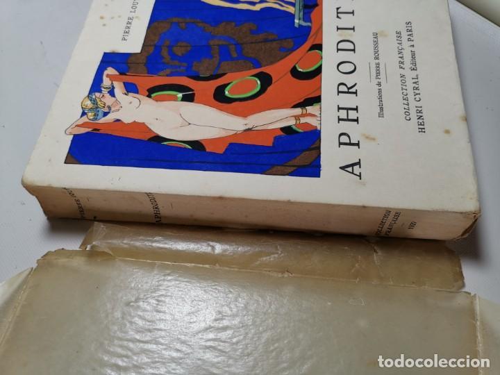 Libros antiguos: APHRODITE...P.LOUYS...ED CYRAL..1928..PIERRE ROUSSEAU ILLUSTRATEUR 1/970 PAPIER RIVES - Foto 22 - 219308242
