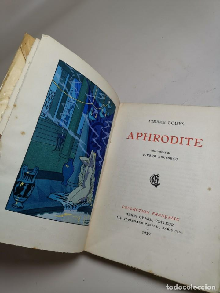 Libros antiguos: APHRODITE...P.LOUYS...ED CYRAL..1928..PIERRE ROUSSEAU ILLUSTRATEUR 1/970 PAPIER RIVES - Foto 25 - 219308242