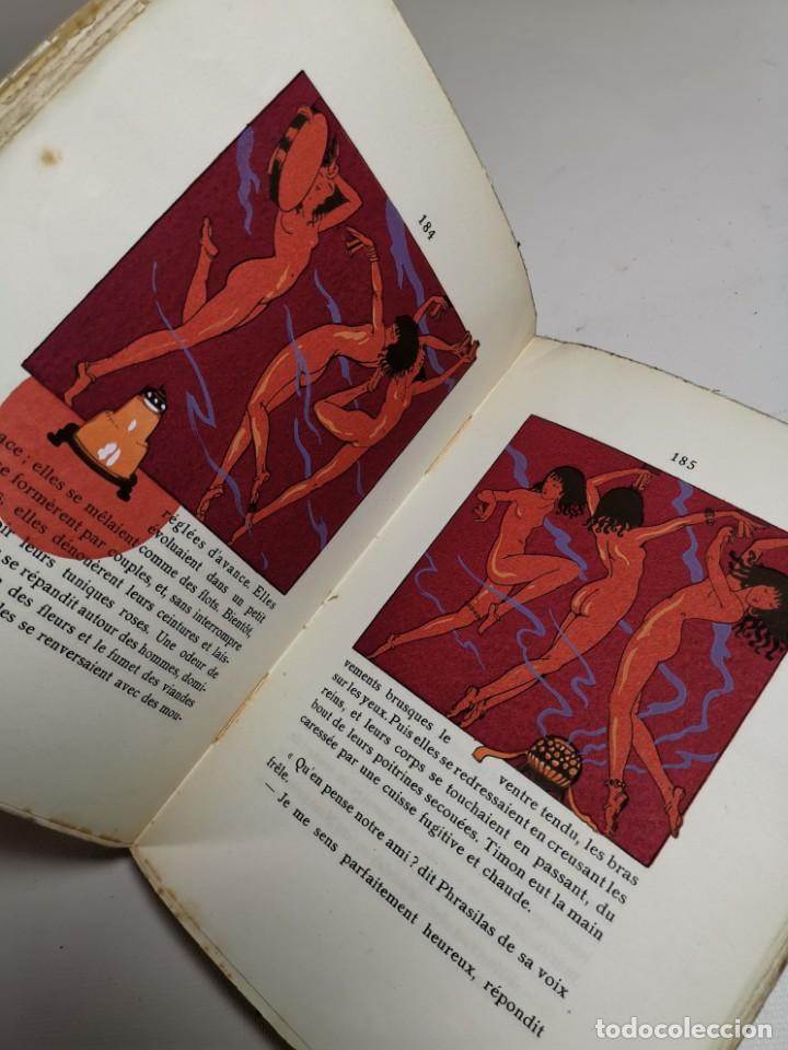 Libros antiguos: APHRODITE...P.LOUYS...ED CYRAL..1928..PIERRE ROUSSEAU ILLUSTRATEUR 1/970 PAPIER RIVES - Foto 27 - 219308242
