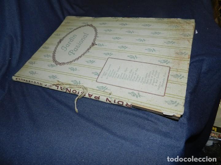 Libros antiguos: (M) JARDÍN PASIONAL - FLORILEGIO ERÓTICO POR FÉLIX CUQUERELLA, MADRID CASTELAO PENAGOS - Foto 2 - 224067503