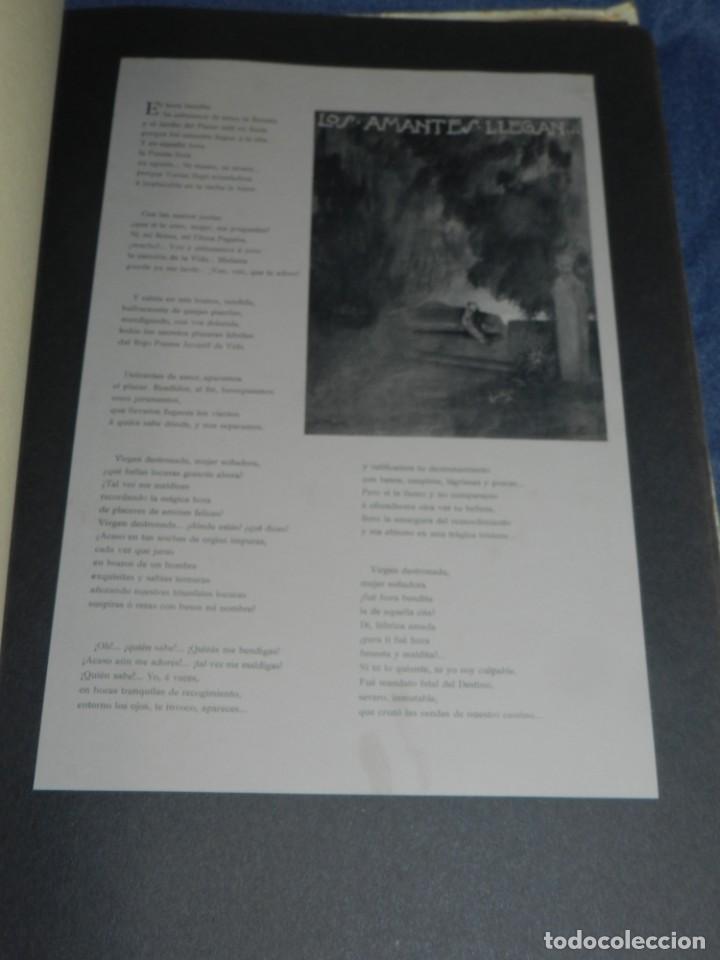 Libros antiguos: (M) JARDÍN PASIONAL - FLORILEGIO ERÓTICO POR FÉLIX CUQUERELLA, MADRID CASTELAO PENAGOS - Foto 6 - 224067503