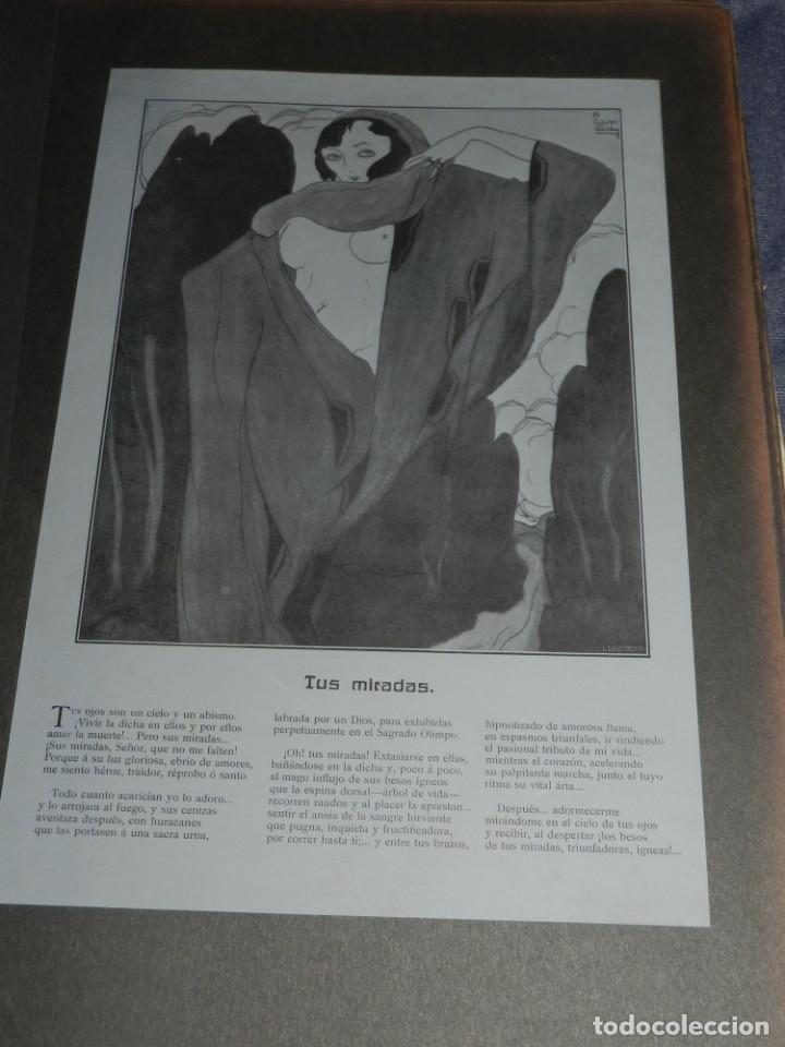 Libros antiguos: (M) JARDÍN PASIONAL - FLORILEGIO ERÓTICO POR FÉLIX CUQUERELLA, MADRID CASTELAO PENAGOS - Foto 8 - 224067503
