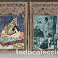 Libros antiguos: EL JARDÍN DEL PECADO ANTOLOGÍA ERÓTICA TOMO IX SELECCIÓN ANDRÉS GUILMAIN. Lote 227471915