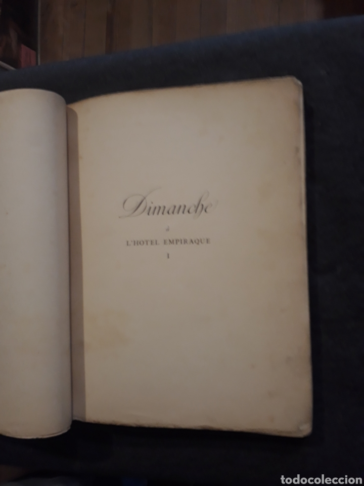 Libros antiguos: Edición especial nro 81 papel Japón. Les dimanches de la C de Narbonne. Daisy Fellowes. Erotismo - Foto 4 - 233861415