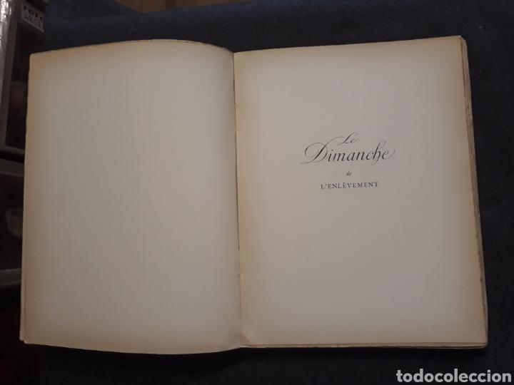 Libros antiguos: Edición especial nro 81 papel Japón. Les dimanches de la C de Narbonne. Daisy Fellowes. Erotismo - Foto 9 - 233861415