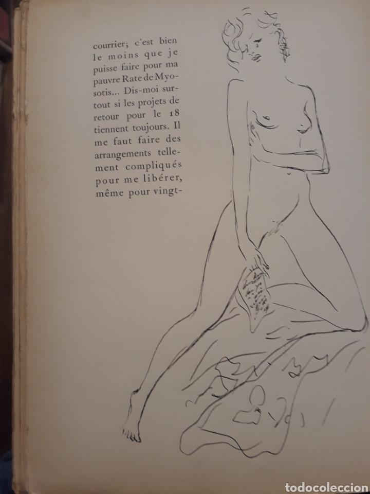 Libros antiguos: Edición especial nro 81 papel Japón. Les dimanches de la C de Narbonne. Daisy Fellowes. Erotismo - Foto 13 - 233861415