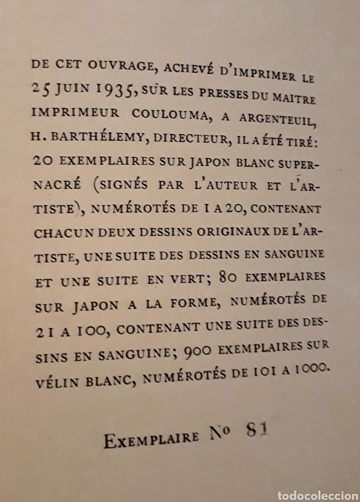 Libros antiguos: Edición especial nro 81 papel Japón. Les dimanches de la C de Narbonne. Daisy Fellowes. Erotismo - Foto 14 - 233861415