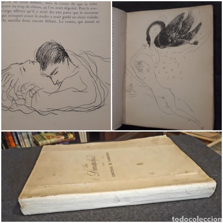 EDICIÓN ESPECIAL NRO 81 PAPEL JAPÓN. LES DIMANCHES DE LA C DE NARBONNE. DAISY FELLOWES. EROTISMO (Libros antiguos (hasta 1936), raros y curiosos - Literatura - Narrativa - Erótica)