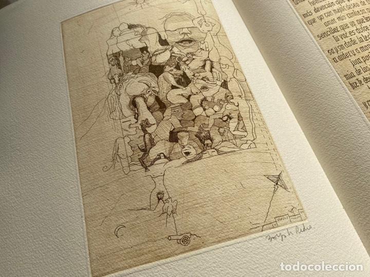 Libros antiguos: RARÍSIMA Y REPUDIADA OBRA DE CELA. ERÓTICA, AGUAFUERTES. FIRMA DE CELA Y DEL ARTISTA. VER FICHA - Foto 4 - 234465730