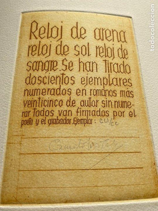 Libros antiguos: RARÍSIMA Y REPUDIADA OBRA DE CELA. ERÓTICA, AGUAFUERTES. FIRMA DE CELA Y DEL ARTISTA. VER FICHA - Foto 5 - 234465730