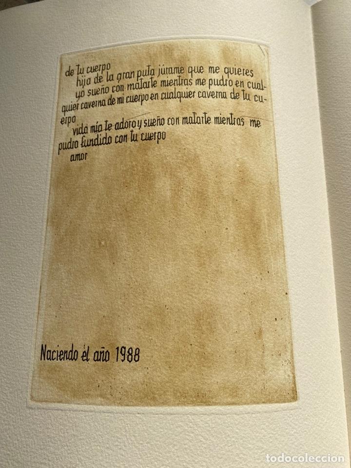 Libros antiguos: RARÍSIMA Y REPUDIADA OBRA DE CELA. ERÓTICA, AGUAFUERTES. FIRMA DE CELA Y DEL ARTISTA. VER FICHA - Foto 6 - 234465730