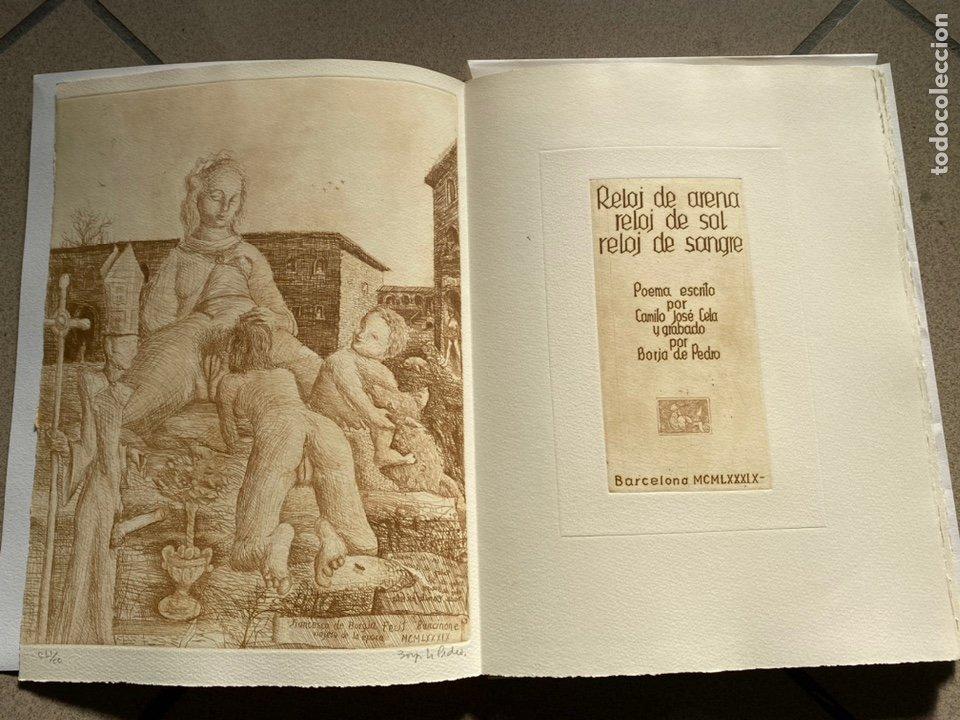 RARÍSIMA Y REPUDIADA OBRA DE CELA. ERÓTICA, AGUAFUERTES. FIRMA DE CELA Y DEL ARTISTA. VER FICHA (Libros antiguos (hasta 1936), raros y curiosos - Literatura - Narrativa - Erótica)