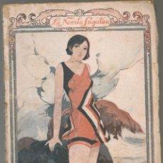 Livres anciens: LA NOVELA SUGESTIVA Nº 55, ANGEL G. LUGEA ,, LA VIRGEN DEL FARO, ILUSTRACIONES DE M.RAMOS. Lote 234798110