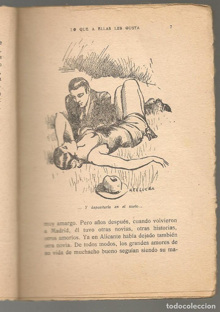 Libros antiguos: la novela sugestiva nº 36 , RICARDO ALTAMIRA ,LO QUE A ELLAS LES GUSTA, ilustraciones de HELGUERA - Foto 2 - 234798140