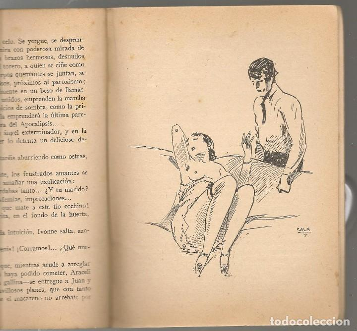 Libros antiguos: la novela exquisita nº 39 , JUAN G. OLMEDILLA , LA OREJA DE ORO , ilustraciones de ZALA - Foto 2 - 234798295
