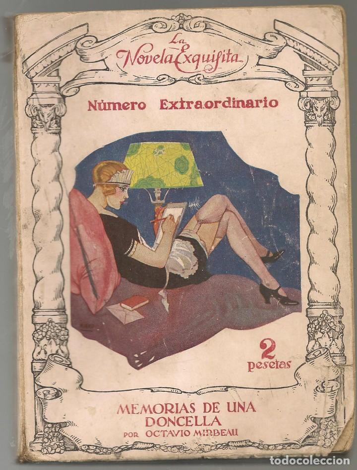 LA NOVELA EXQUISITA EXTRAORDINA , MIRBEAU,OCTAVIO ,MEMORIAS DE UNA DONCELLA , ILUSTRACIONES DE MIRKO (Libros antiguos (hasta 1936), raros y curiosos - Literatura - Narrativa - Erótica)