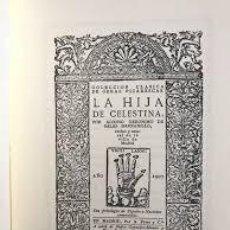 Libros antiguos: LA HIJA DE CELESTINA ALONSO JERÓNIMO DE SALAS BARBADILLO. Lote 240076015