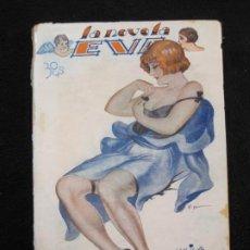 Libros antiguos: LA NOVELA EVA-EN CAMISA NEGRA-NUM·66-ILUSTRACIONES KIF-NOVELA EROTICA-VER FOTOS-(K-1983). Lote 245099065