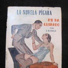 Libros antiguos: LA NOVELA PICARA-ME HA GUIÑADO-EROTICA-NUM·69-ILUSTRACIONES POR ARGUS-VER FOTOS-(K-1985). Lote 245099610