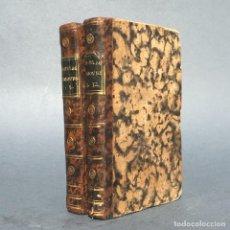 Livres anciens: AÑO 1791 - NOVELA EROTICA - LOTE DE DOS LIBROS - LA FIN DES AMOURS DU CHEVALIER DE FAUBLAS. Lote 251224230