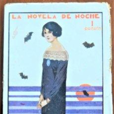 Libros antiguos: LA DAMA DEL CRISANTEMO - EMILIO CARRERE - COLECCIÓN LA NOVELA DE NOCHE Nº 42 - 15 DICIEMBRE 1925. Lote 257528045
