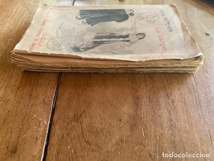 Libros antiguos: Libro La Carne Oscar Metenier -1901 - Foto 3 - 259769590