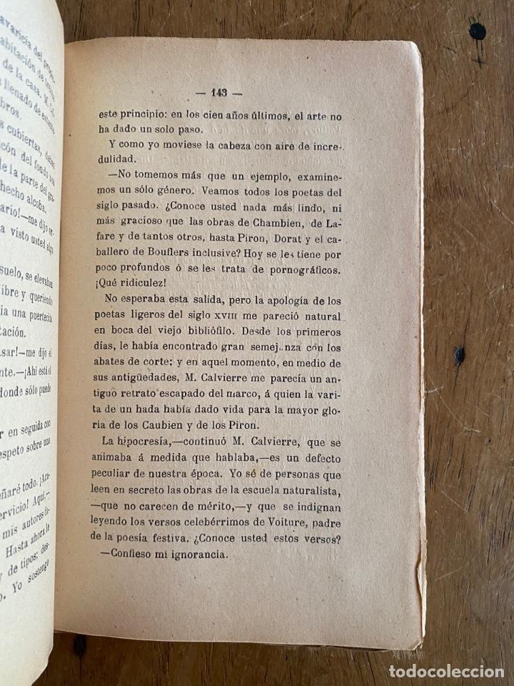 Libros antiguos: Libro La Carne Oscar Metenier -1901 - Foto 7 - 259769590