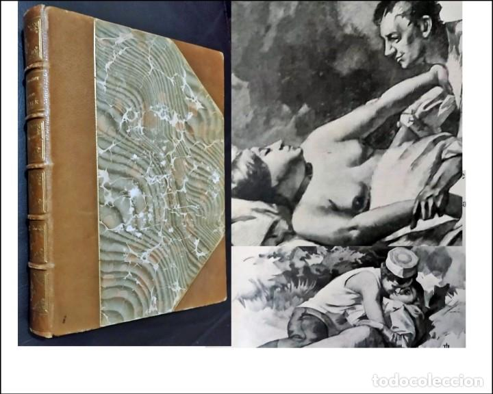 AÑO 1899: GUY DE MAUPASSANT. LA MAISON TELLIER. ELEGANTE LIBRO ILUSTRADO DEL SIGLO XIX. (Libros antiguos (hasta 1936), raros y curiosos - Literatura - Narrativa - Erótica)