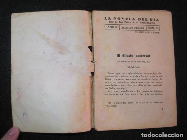 Libros antiguos: LA NOVELA DEL DIA-EL DILUVIO UNIVERSAL-NUM·94-DIABLO-NOVELA EROTICA-VER FOTOS-(K-2876) - Foto 7 - 263765955
