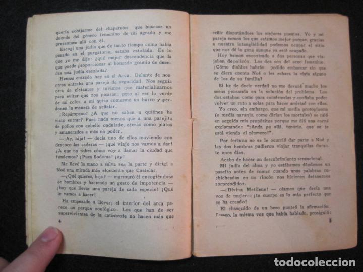 Libros antiguos: LA NOVELA DEL DIA-EL DILUVIO UNIVERSAL-NUM·94-DIABLO-NOVELA EROTICA-VER FOTOS-(K-2876) - Foto 10 - 263765955