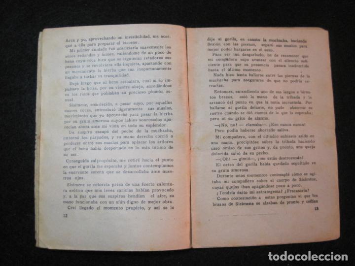 Libros antiguos: LA NOVELA DEL DIA-EL DILUVIO UNIVERSAL-NUM·94-DIABLO-NOVELA EROTICA-VER FOTOS-(K-2876) - Foto 14 - 263765955