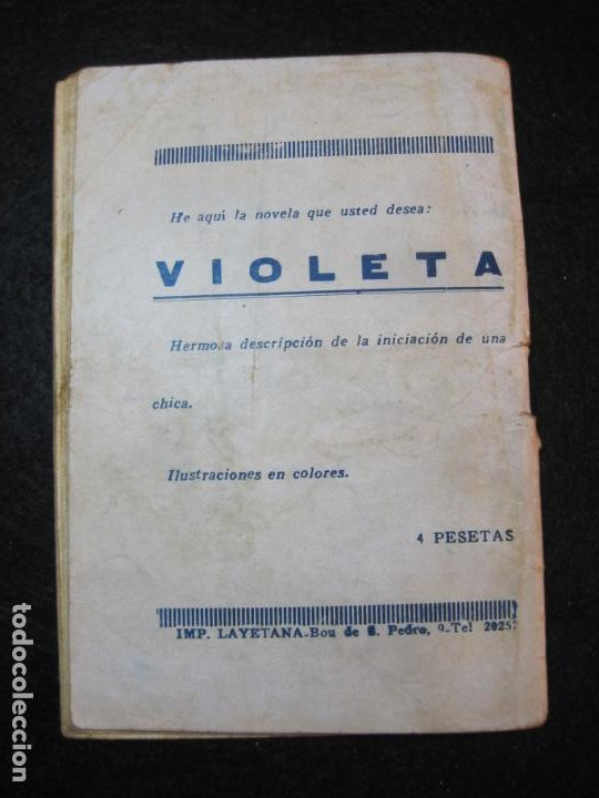 Libros antiguos: LA NOVELA DEL DIA-EL DILUVIO UNIVERSAL-NUM·94-DIABLO-NOVELA EROTICA-VER FOTOS-(K-2876) - Foto 28 - 263765955