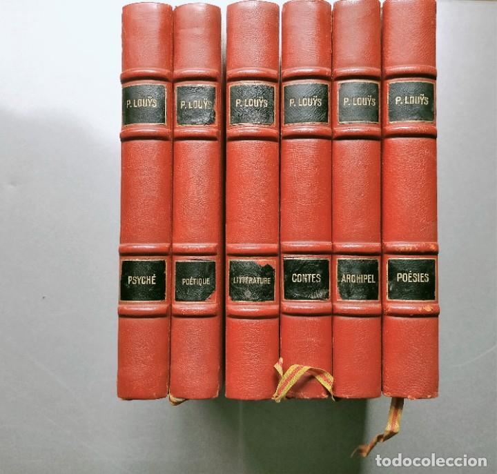 PIERRE LOUYS POESIES CONTES POETIQUE PSYCHE ARCHIPEL LITERATURE EDITIONS MONTAIGNE EROTICA (Libros antiguos (hasta 1936), raros y curiosos - Literatura - Narrativa - Erótica)