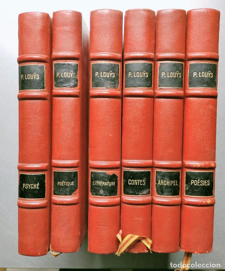 Libros antiguos: PIERRE LOUYS POESIES CONTES POETIQUE PSYCHE ARCHIPEL LITERATURE EDITIONS MONTAIGNE EROTICA - Foto 2 - 264807419