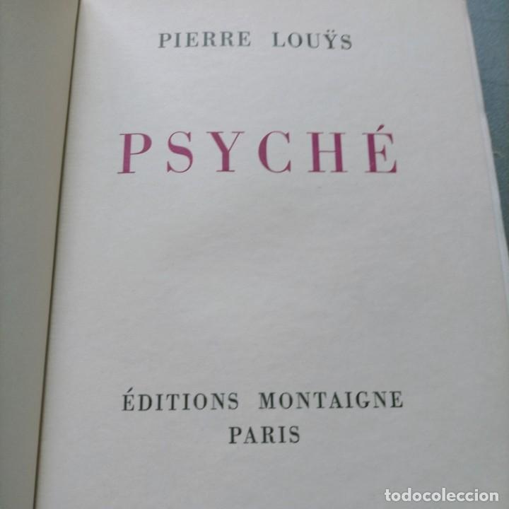 Libros antiguos: PIERRE LOUYS POESIES CONTES POETIQUE PSYCHE ARCHIPEL LITERATURE EDITIONS MONTAIGNE EROTICA - Foto 21 - 264807419