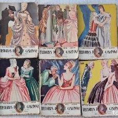 Libros antiguos: MEMORIAS DE CASANOVA - TOMOS 9 DE LOS 11 TOMOS - LOS MAESTROS DEL AMOR - EDICIONES ARTE NUEVO. Lote 272236943