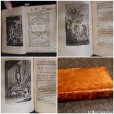 Libros antiguos: 1782 LES PLAISIRS DE L'AMOUR OU RECUEIL DE CONTES, HISTOIRES & PÖEMES GALANS. 3 TOMOS EN UN VOLUMEN.. Lote 272248228