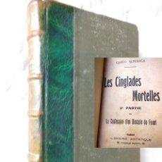 Libros antiguos: LES CINGLADES MORTELLES. 3ª PARTIE DE LA CONFESSION D'UN DISCIPLE DU FOUET. CARLO ALBERICA. Lote 278218958